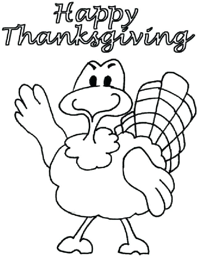 646x834 Thanksgiving Day Coloring Pages Free Thanksgiving Coloring Page