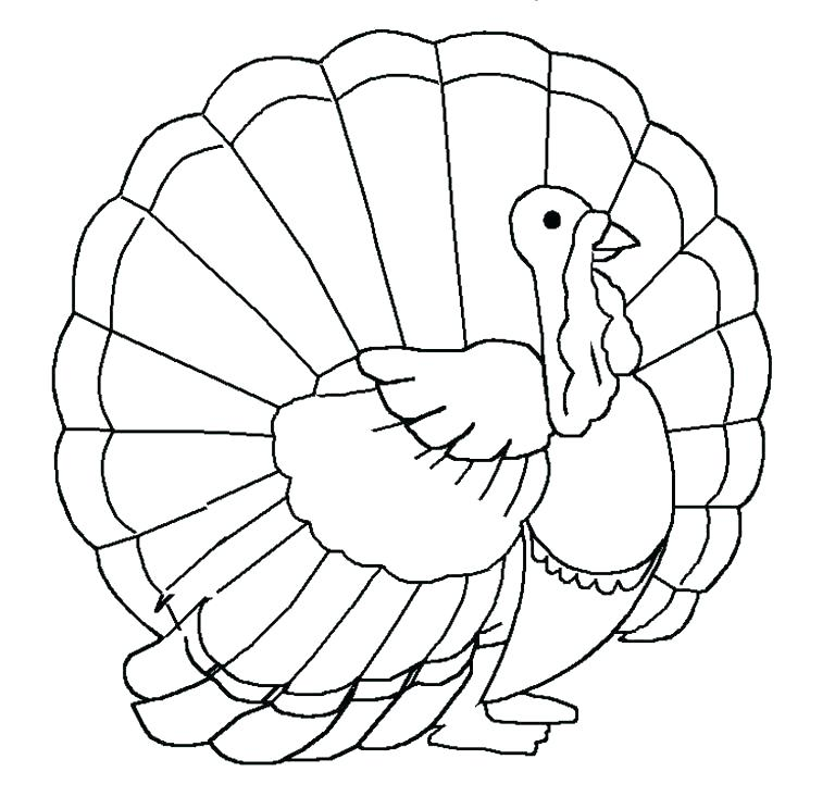 768x744 Food Coloring For Kids Thanksgiving Food Coloring Pages Free