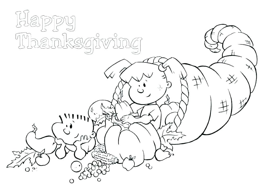 1024x719 Thanksgiving Dinner Coloring Pages Thanksgiving Feast Coloring
