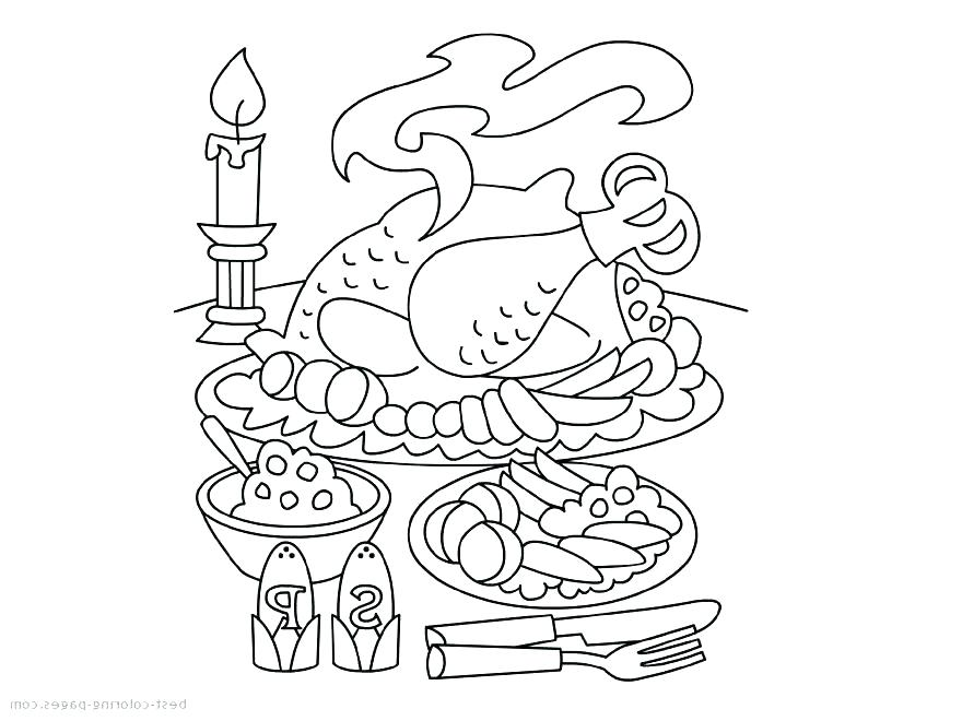 880x660 Free Coloring Pages For Thanksgiving Coloring Pages