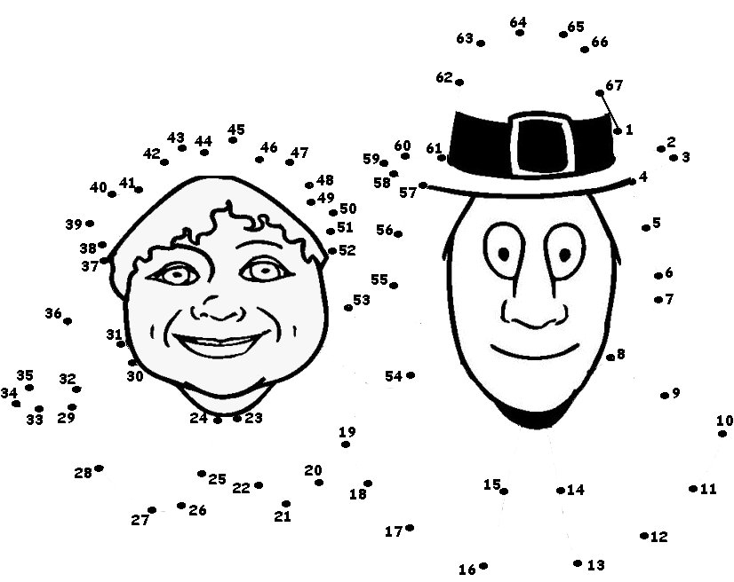 826x656 Dot To Dot Thanksgiving Printable Festival Collections