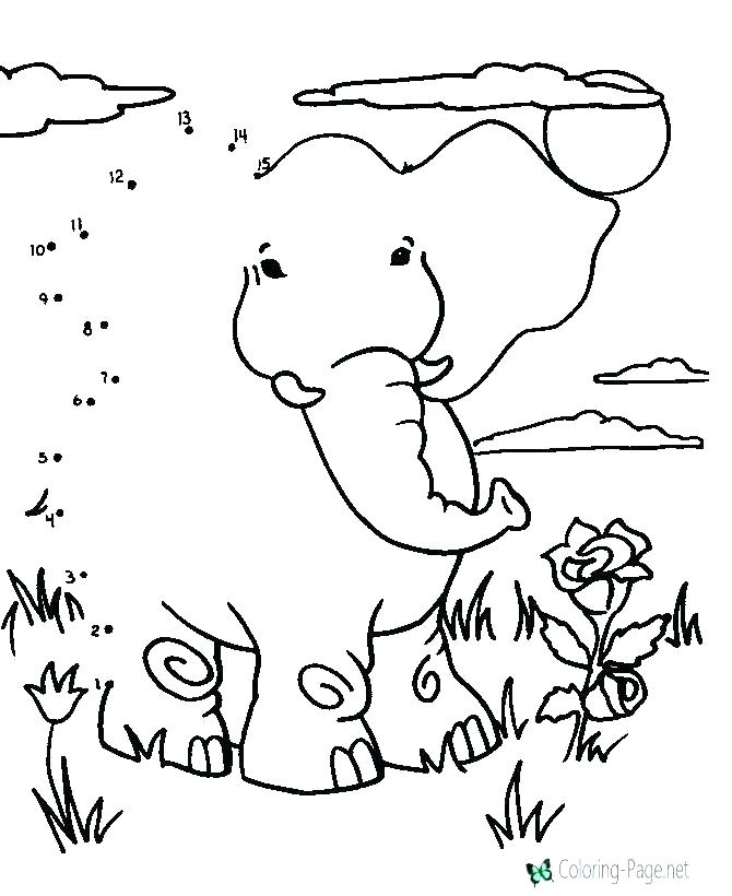 670x820 Coloring Pages Connect The Dots