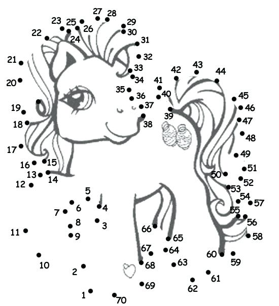 550x604 Connect The Dots Coloring Pages My Little Pony Dot To Dot