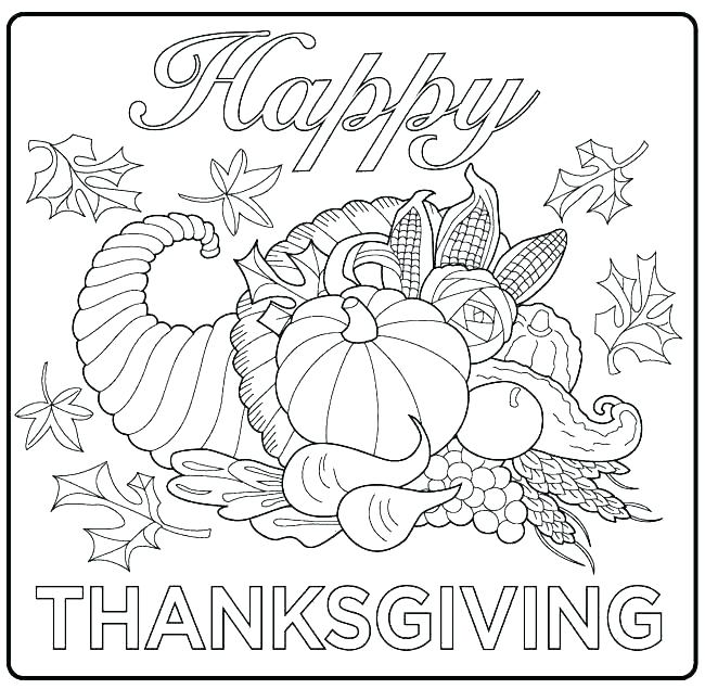 650x635 Thanksgiving Feast Coloring Pages First Marine Still Li
