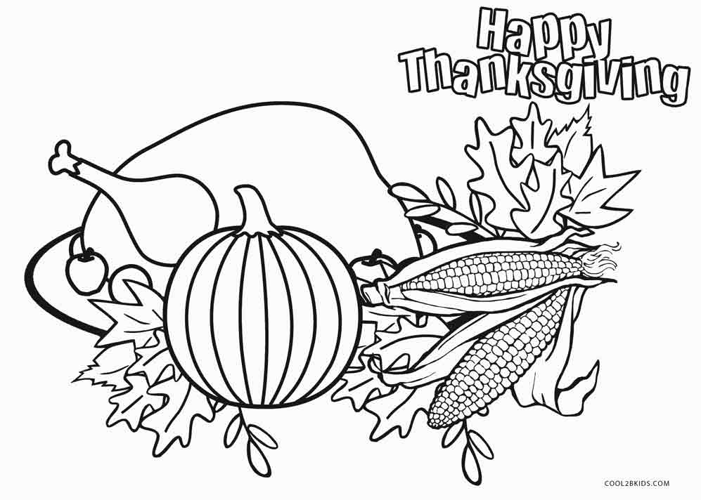 997x712 Free Printable Food Coloring Pages For Kids