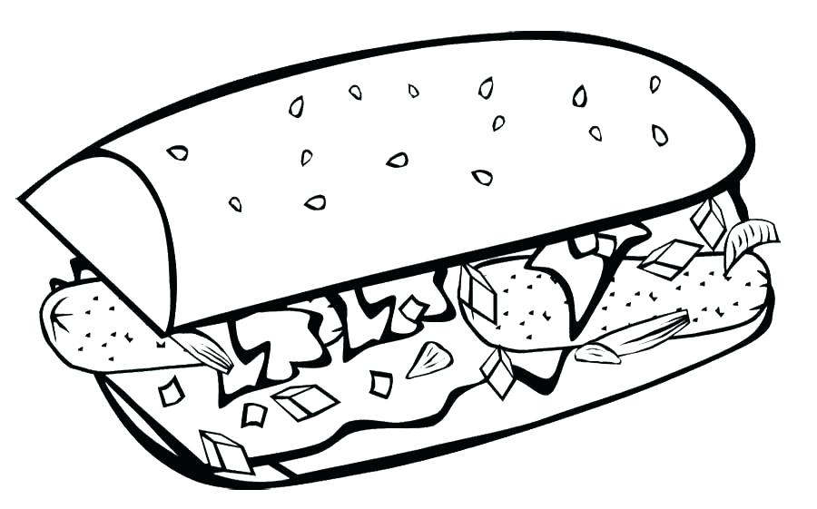 900x561 Food Coloring Page