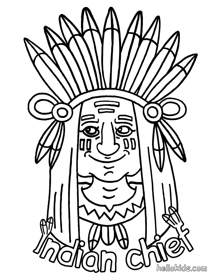 820x1060 Awesome Indian Coloring Sheets Preschool For Snazzy Free Printable