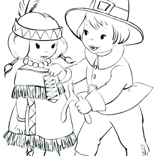 600x600 Pilgrim And Indian Coloring Pages Coloring Pages Coloring Pages