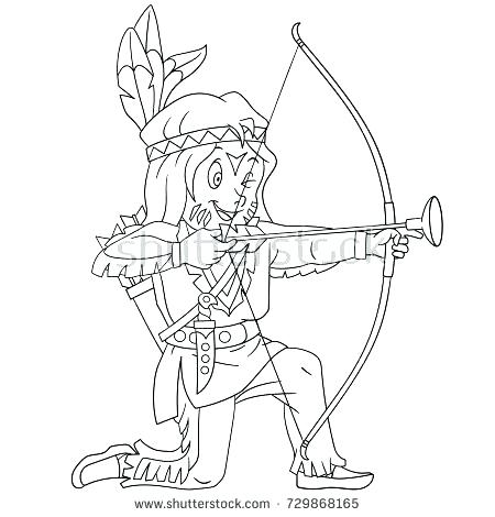 450x470 Thanksgiving Indian Coloring Pages Coloring Pages Coloring Page