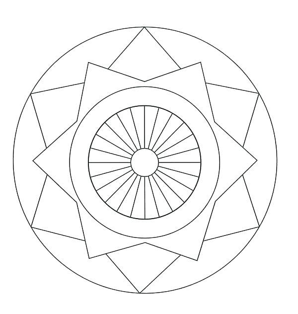 600x632 Thanksgiving Mandala Coloring Pages Mandala Coloring Pages