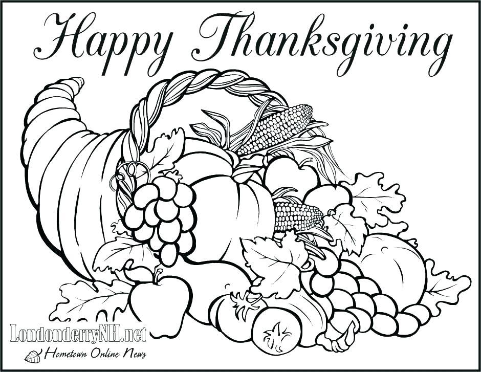 940x727 Thanksgiving Mandala Coloring Pages
