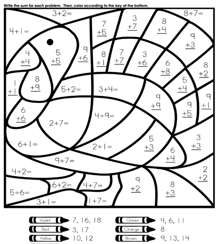 448x500 Fun, Easy Thanksgiving Coloring And Activities Pages For Kids
