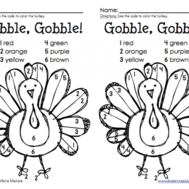 268x268 Thanksgiving Coloring Pages Math Archives