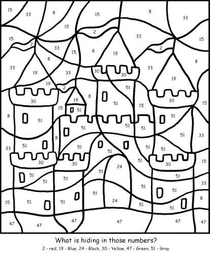 413x500 Thanksgiving Math Color