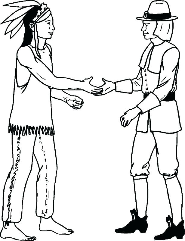 615x800 Thanksgiving Coloring Pages Pilgrim Thanksgiving And Thanksgiving