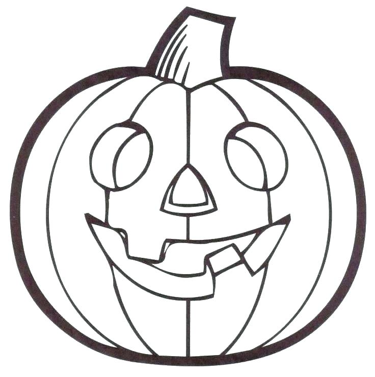 736x740 Pumpkin Coloring Pages Free Printable Pumpkin Coloring Pages Free