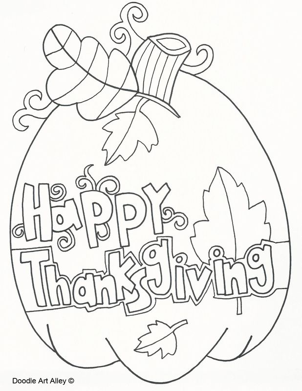 618x800 Thanksgiving Coloring Sheets