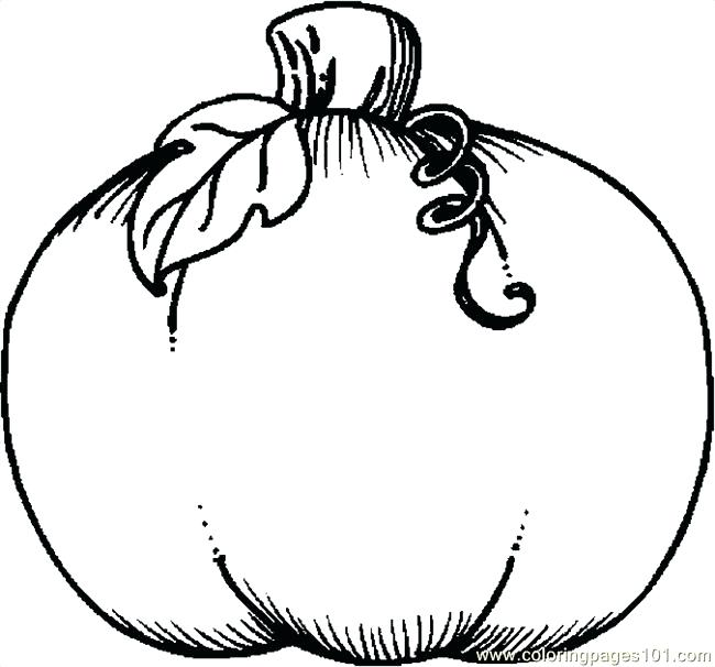 650x606 Thanksgiving Pumpkin Coloring Pages Coloring Pages Of A Pumpkin