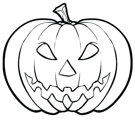 450x404 Amazing Free Pumpkin Coloring Pages