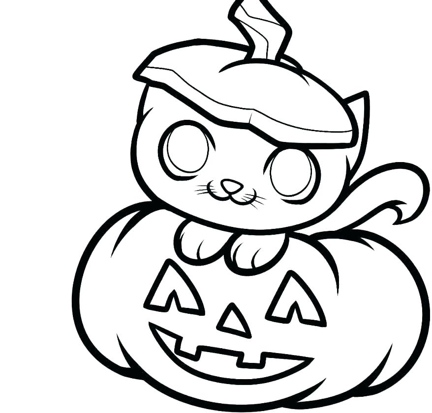 878x841 Small Pumpkins Coloring Pages