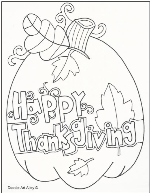 524x678 Free Thanksgiving Coloring Pages