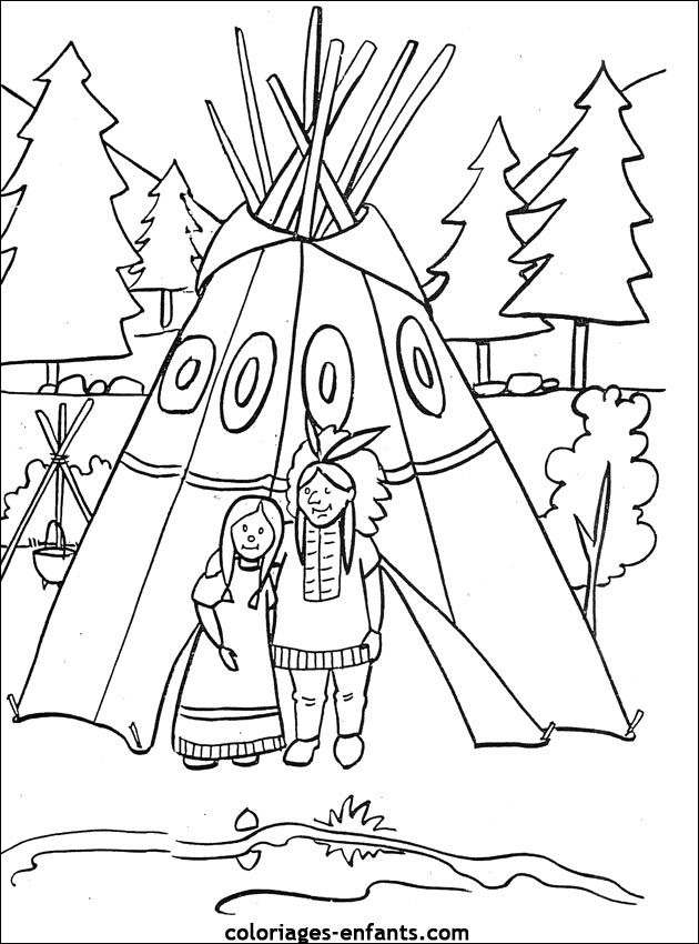 630x850 Native American Coloring Page, Maybe For The Kids Table