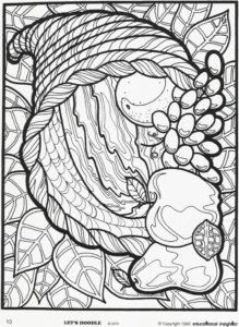 Thanksgiving Themed Coloring Pages