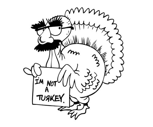 500x416 Thanksgiving Coloring Pages