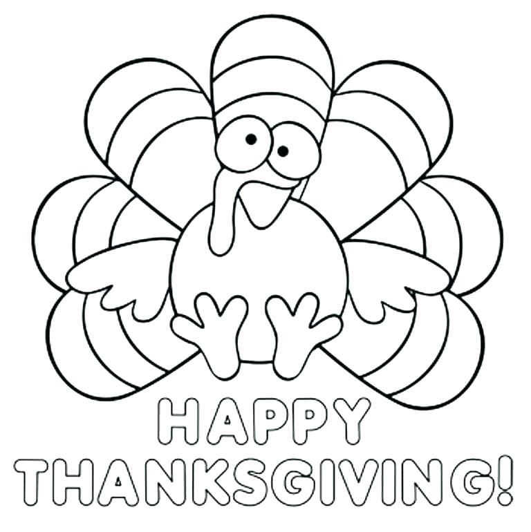 768x770 Turkey Coloring Images Turkey Coloring Images Thanksgiving