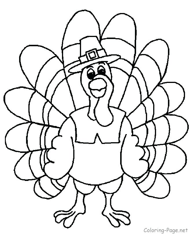 670x820 Turkey Coloring Pages Printable Free Thanksgiving Coloring Pages