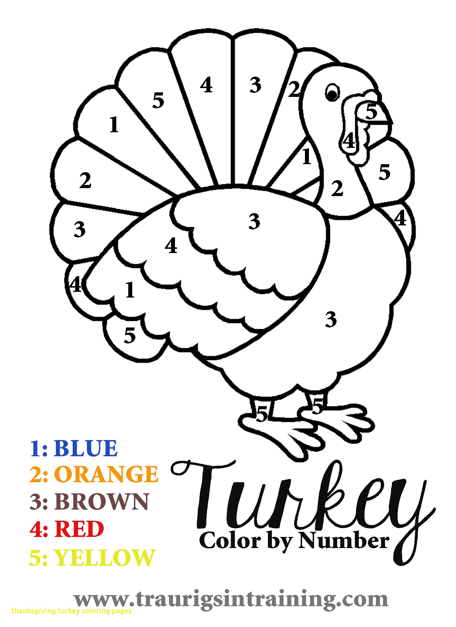 1600x2200 Thanksgiving Turkey Coloring Pages With Turkey Color Page Free