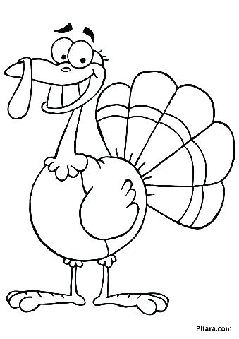 339x480 Coloring Awesome Turkey Coloring Pages Printable Free Free