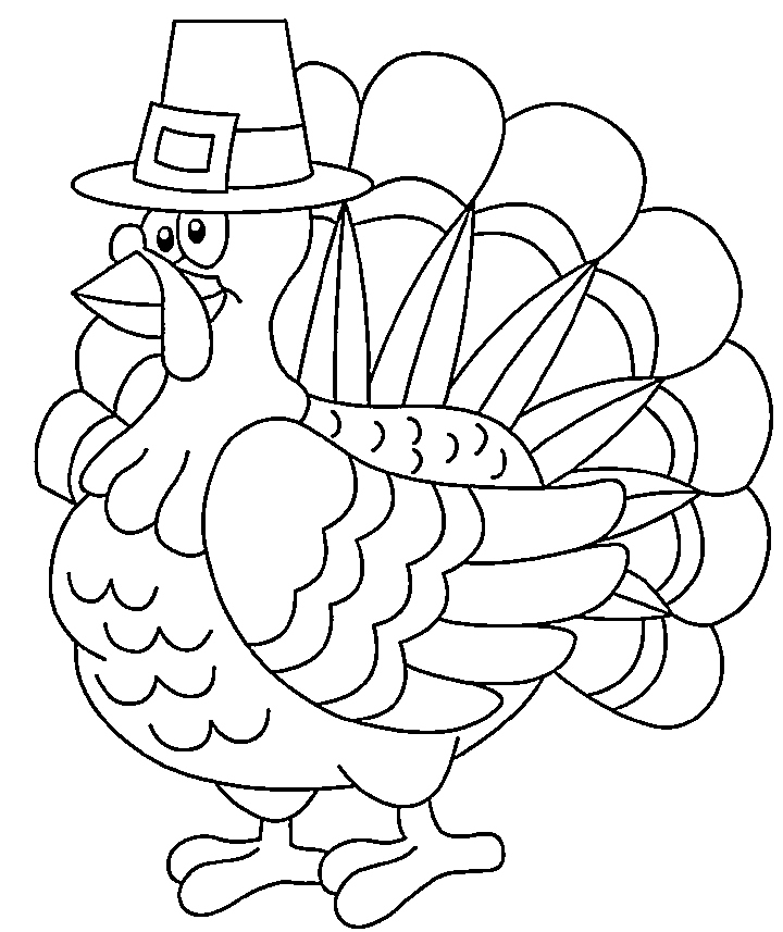 720x857 Turkey Coloring Pages Printable Lovely Turkey Coloring Page Free
