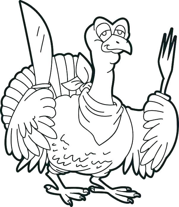 603x700 Printable Coloring Pages Thanksgiving