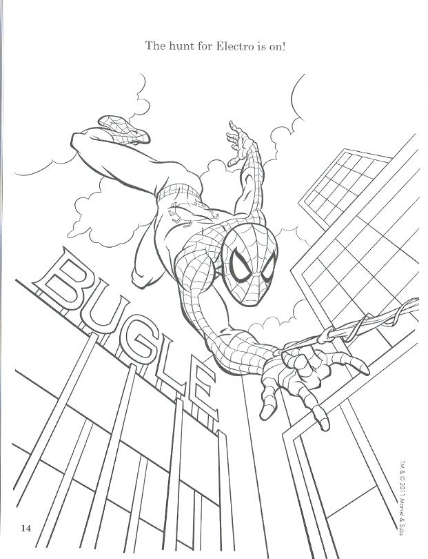 621x810 Amazing Spider Man Coloring Pages Amazing Spider Man Coloring