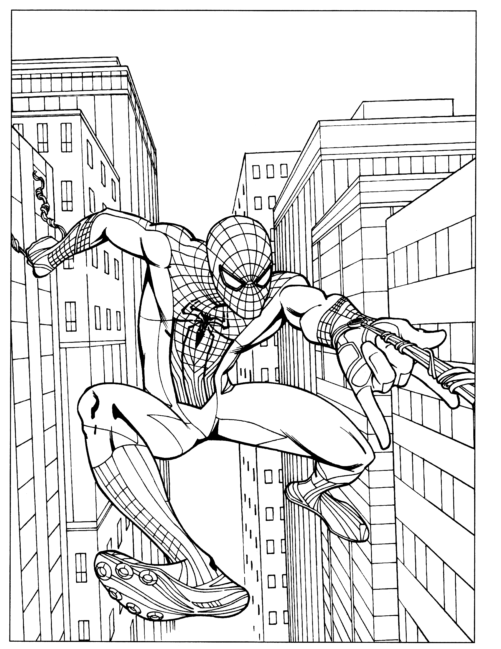 The Amazing Spider Man 2 Coloring Pages At Getdrawings Com Free