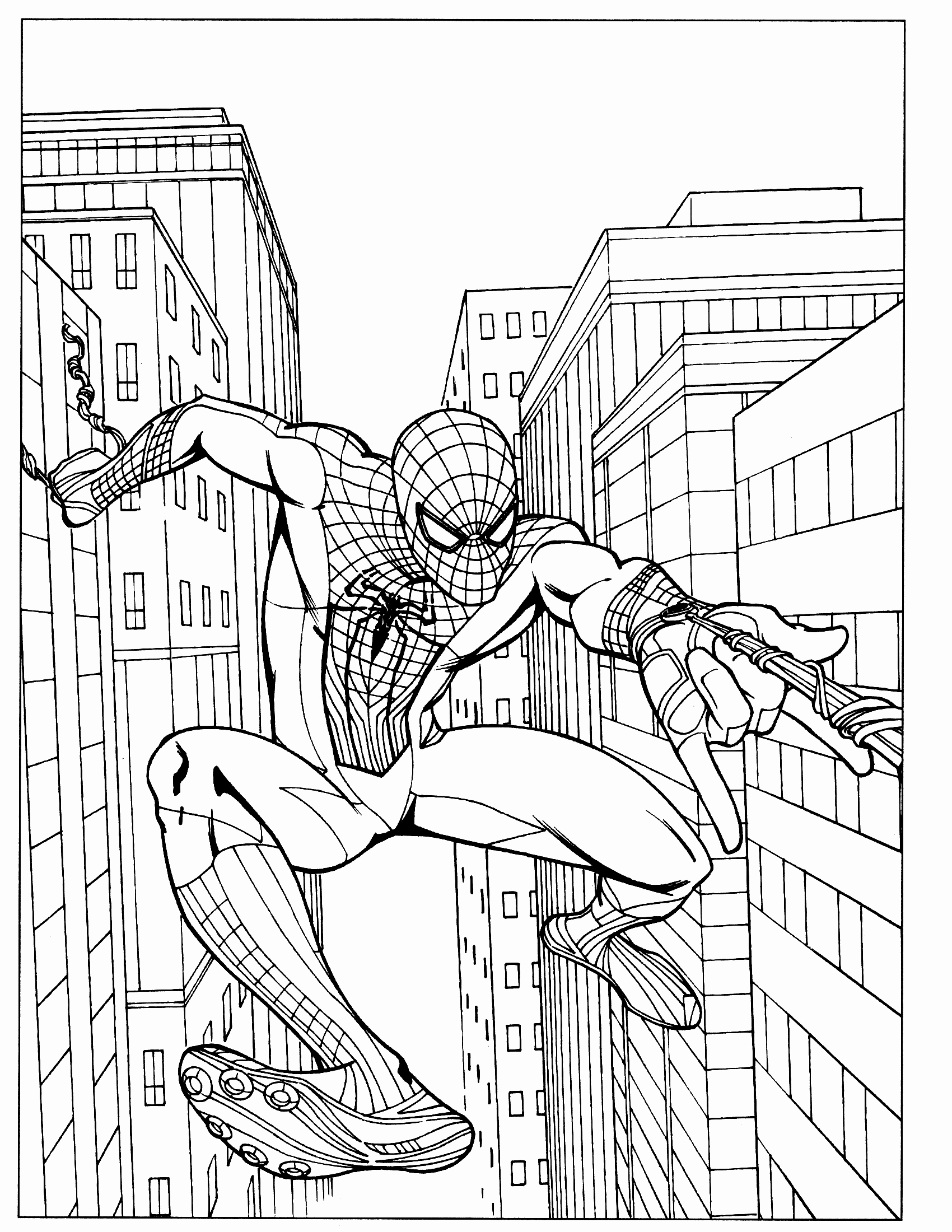 1700x2200 Spider Man Kraven Coloring Pages Copy New The Amazing Spiderman