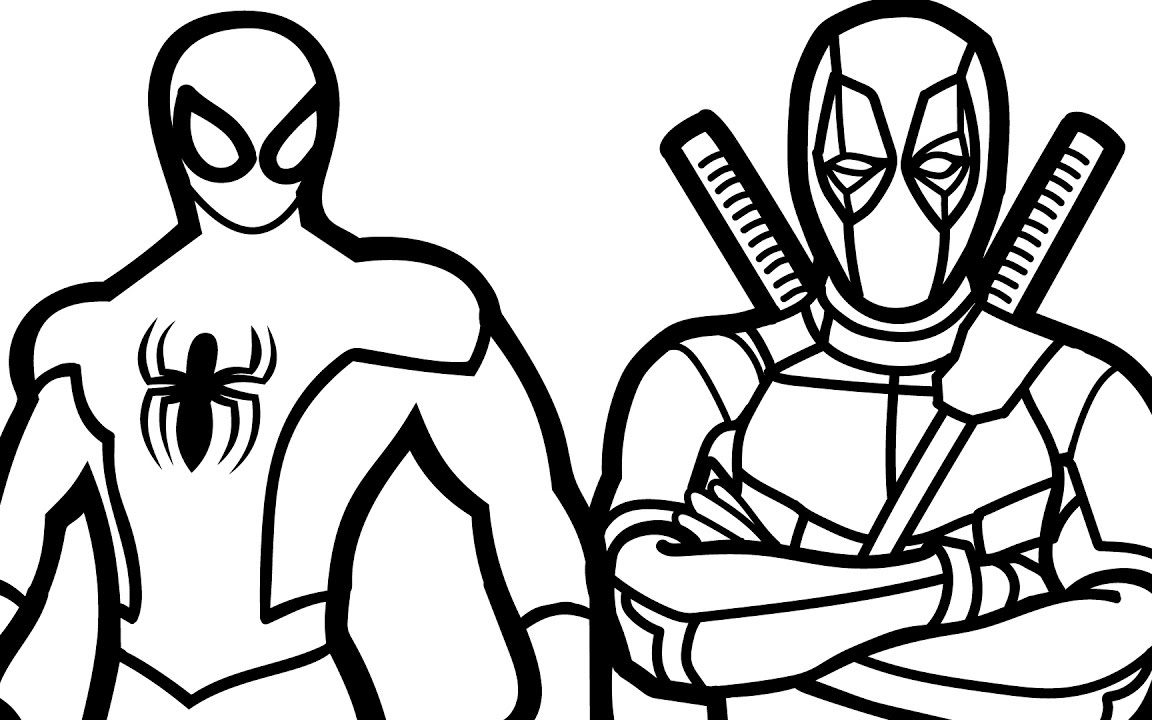 1152x720 Spiderman Coloring Page Free Printable Pages Cartoons Lego Games