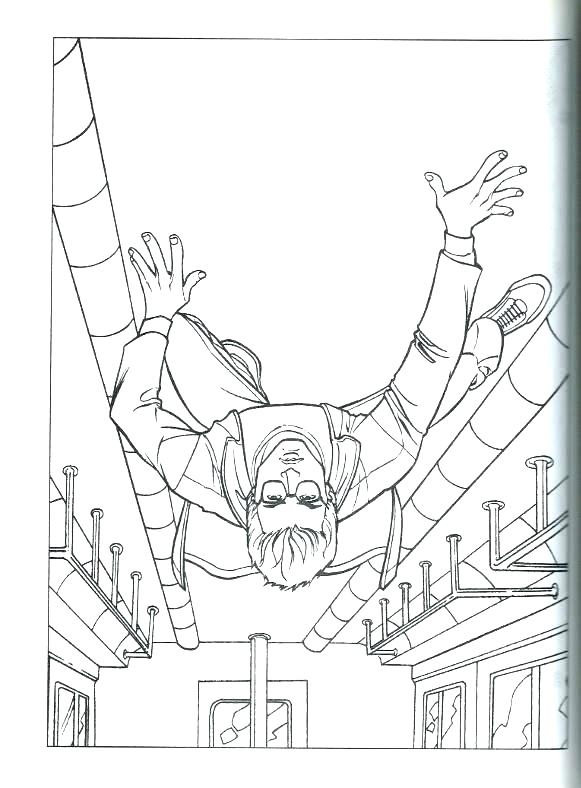 581x788 Spiderman Coloring Pages Online The Amazing Spider Man Coloring