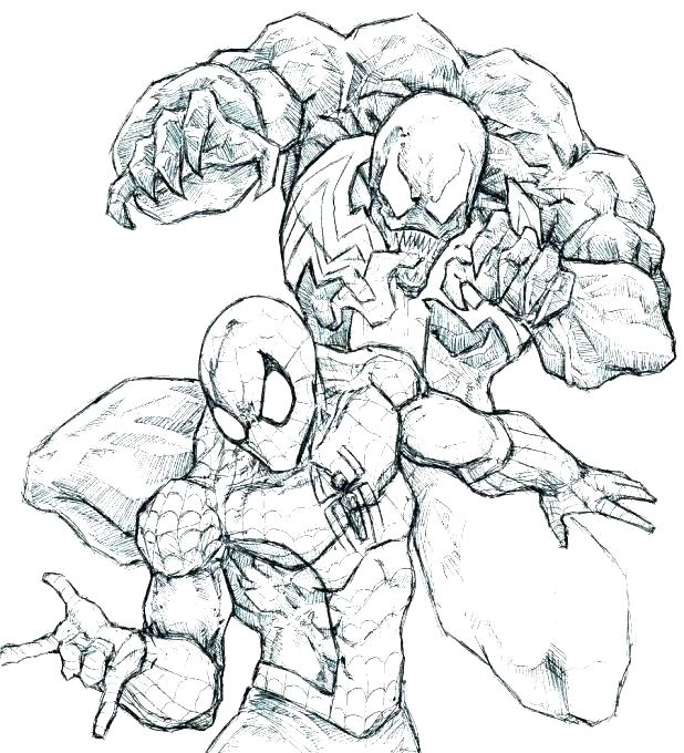 618x680 The Amazing Spider Man Coloring Pages Able Spiderman Coloring