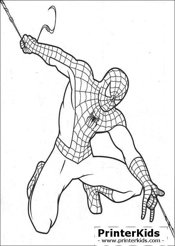 567x794 The Amazing Spider Man Coloring Pages To Print The Amazing