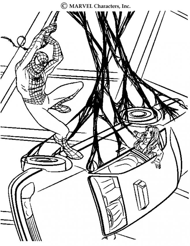 659x850 The Amazing Spiderman Coloring Pages