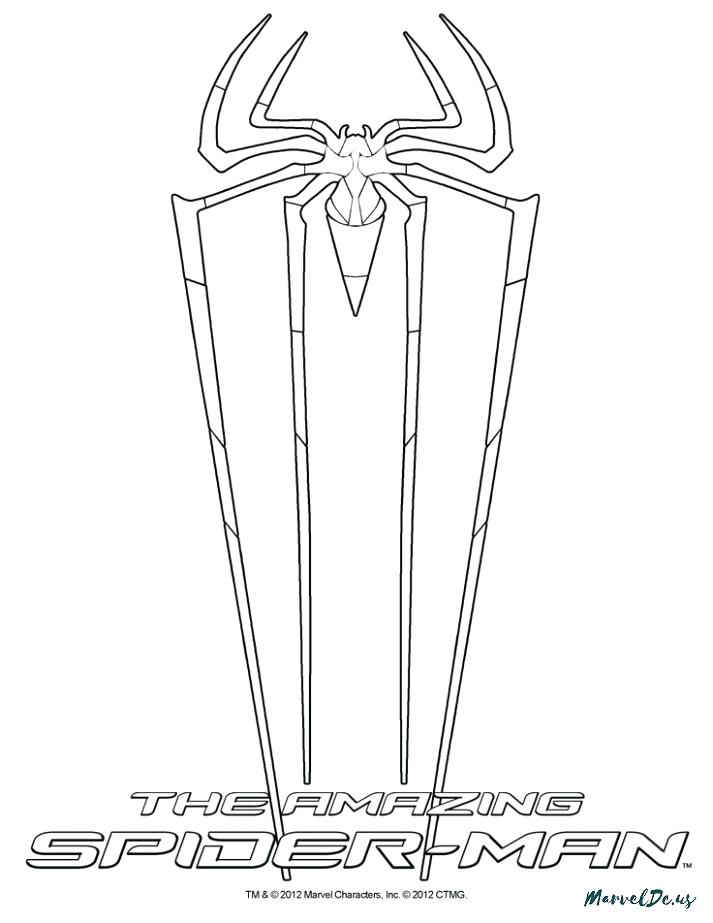 713x923 Exciting Amazing Spider Man Coloring Pages On Spiderman Coloring