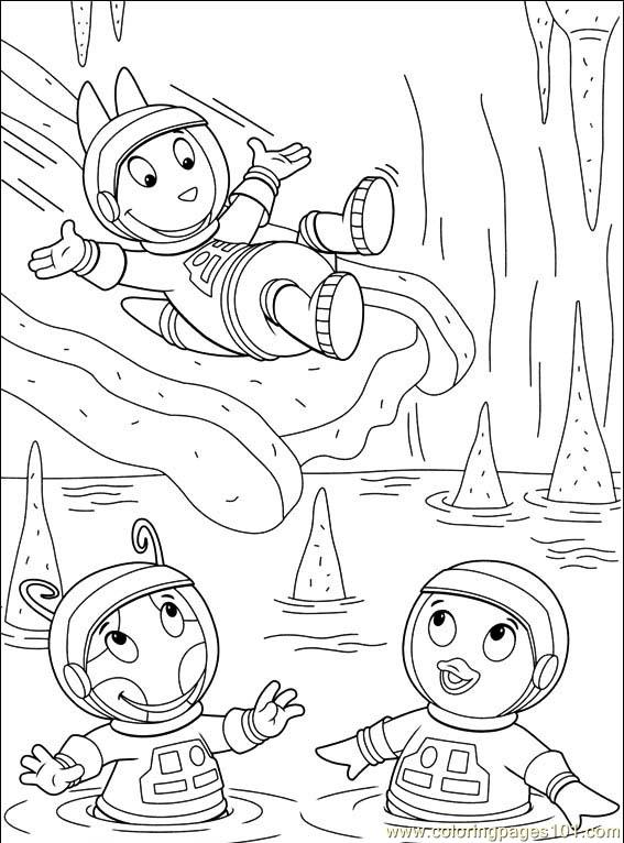 The Backyardigans Coloring Pages