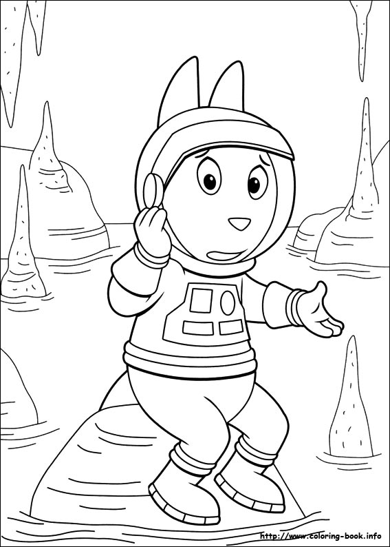 The Backyardigans Coloring Pages At Getdrawings Com Free For