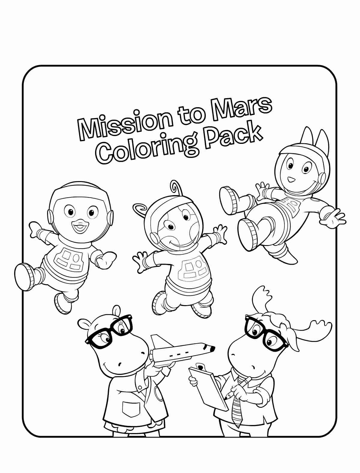1200x1575 Free Printable Backyardigans Coloring Pages For Kids And Olegratiy