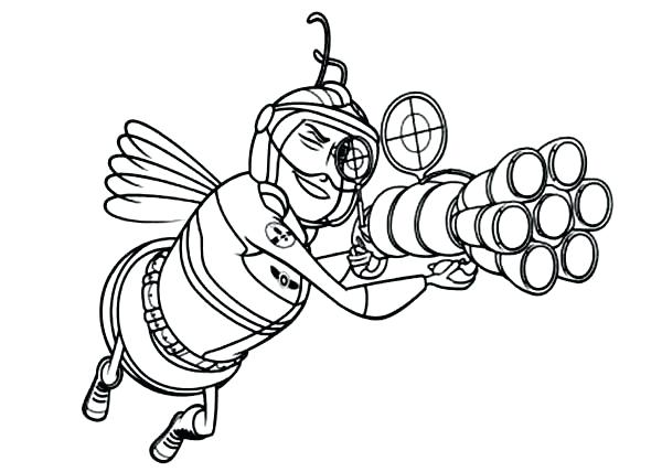 600x428 Coloring Pages Draw A Bee Basic Fly Bee Coloring Page To Drawing