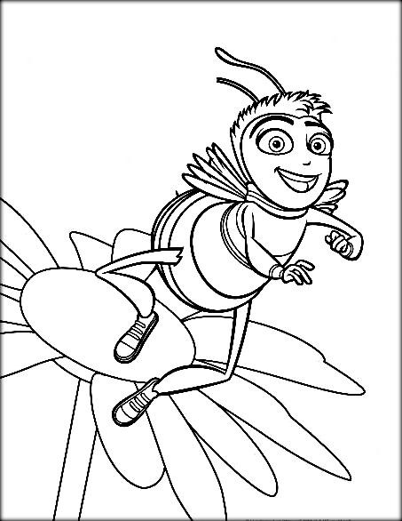 453x586 Bee Movie Coloring Pages New Bee Movie Coloring Pages Color Zini