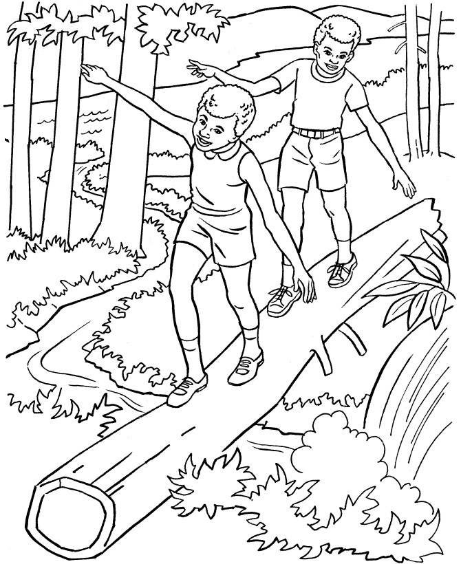 670x820 Nature Colouring Pages Free Printable Nature Coloring Pages