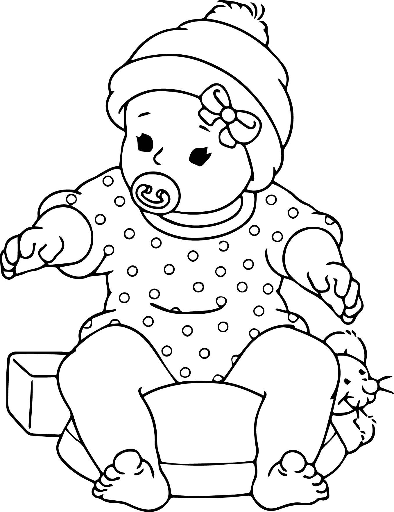 1356x1761 Marvellous Design Baby Coloring Pages Free Printable Archives